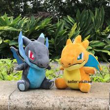 "2X Charizard Nintendo Pokemon Go XY Plush Toys Mega Shiny Stuffed Animal Doll 6"""