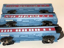 Lionel O' Gauge Polar Express 6-25100, 6-25101, 6-25102 Pass & Observation Cars