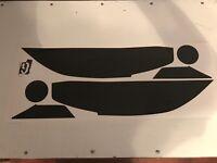 16-19 Honda Civic smoked tinted headlight covers vinyl overlays
