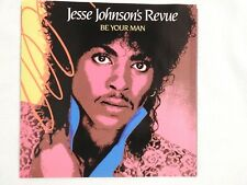 """JESSE JOHNSON REVUE """"BE YOUR MAN"""" PICTURE SLEEVE! NEW!"""