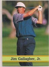 1993 Fax Pax Golf Stars Jim Gallagher Jr. Card #28