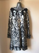 New SUGAR CRISP Patterned Knitted Tunic Dress - Size L ( UK Size 14 ) BNWT !!!!!