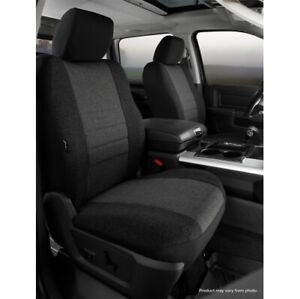 FIA OE39-43 CHARC Custom Seat Cover Front For 16-20 Toyota Tacoma NEW