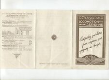 N°5110 /  dépliant 7éme exposition de la locomotion aérienne services postaux