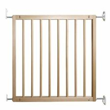 BabyDan No Trip Wooden Safety Baby Stair Gate Wall Mounted Stair Gate 72-78.5cm