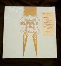MADONNA THE ROYAL BOX SEALED 1990 CASSETTE VERSION w/ PROMO HYPE STICKER BOX SET