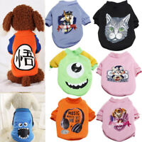 Small Pet Chihuahua Dog Apparel Vest Puppy Cat Coat T-shirt Warm Clothes Sweater