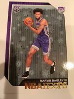 2018-19 Hoops Winter Holiday Variant Marvin Bagley Rookie Sacramento Kings