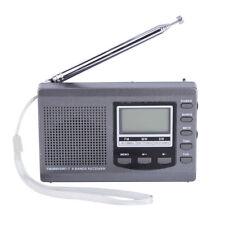 Mini Portable Poche Radio Numérique AM FM MW SW Stéréo Réveil Récepteur