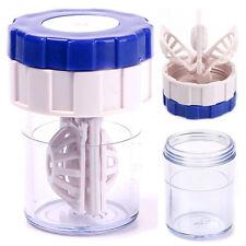 Nueva Moda manualmente de plástico en contacto con Limpiador De Lentes Lavadora Limpieza Lentes Funda