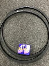 TWO Tires+Tubes 700x25c *Puncture Protection Thorn Resistant* Bike Tires Duro