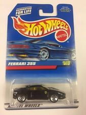 Hot Wheels FERRARI 355 Black 1998 Mainline Cars #813 Berlinetta F355  (T05)