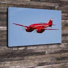 "De Havilland DH.88 Comet Printed Canvas A1.30""x20""Deep 30mm Frame Aircraft Plane"