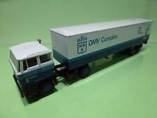 LION CAR 58 36 DAF 2800 DMV CAMPINE TRUCK TRAILER - 1:50 - GOOD CONDITION