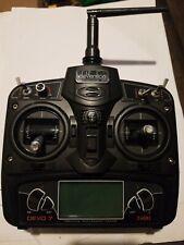 Devention Devo-7  RC 2.4Ghz 6 Channel Radio Control Transmitter w/ LCD Monitor