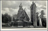 1937 Kirche WANG bei Brückenberg bzw. KRUMMHÜBEL Riesengebirge Schlesien alte AK