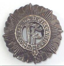 Irish Army Vickers Helmet Badge Metal with prongs