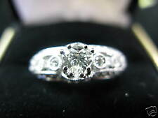 18Kt Heart Shape Diamond Engagement Ring White Gold