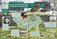 Clarks All Terrain Leisure Boots/Shoes 1999 Magazine 2 Page Advert #4235