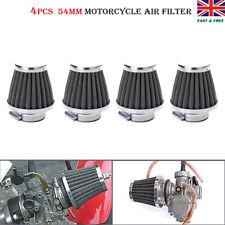 4x 54mm Air Filter For Kawasaki GPZ900 GPZ750 KZ750 KZ1000 Suzuki Honda Yamaha