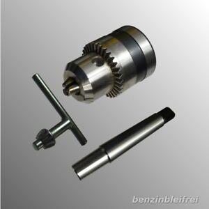 Bohrfutter 3 - 16mm B16 für Ständerbohrmaschine / Drehbank + Aufnahme MK2 TOP