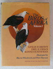 Birds of Africa Vol 1 Brown Urban Newman Large H/B Book Illustrated Ornithology