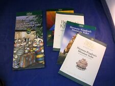 New ListingLot Of 5 Pieces Of Harmony Kingdom Literature Outlining Many Of The Pieces
