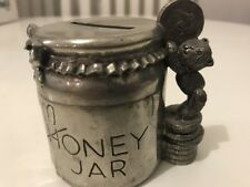 Royal Selangor - Pewter Coin Box, Money Jar in Gift Box - Teddy Bears' Picnic