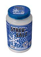 Streusalz 3 kg in Streukanne Deutsche Salinen Qualität Auftausalz Winter