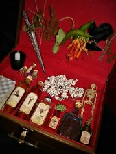 Steampunk Unique Witches MYSTICA Box of Spells Wand Potions Crystal Ball & More