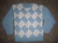 Vintage Via L.A. Pastel Fairy Kei Chunky Knit Acrylic Sweater L