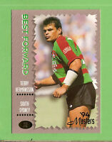 .1994 MASTERS RUGBY LEAGUE CARD #72 TERRY HERMANSSON, SOUTH SYDNEY RABBITOHS
