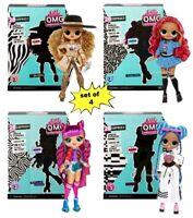 4 LOL Surprise Series 3 OMG Dolls Da Boss Class Prez Roller Chillax Preorder
