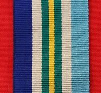 WW2 1945-75 AUSTRALIAN SERVICE MEDAL RIBBON MEDAL REPLACEMENT MOUNTING ANZAC