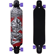 "Professional 41"" X 9.5"" Longboard Skateboard Cruiser Through downhill Complete"