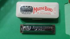 Marine Band M. Hohner Harmonica Vintage Made In Germany