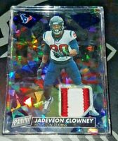 2019 Panini Day #78 Jadeveon Clowney #6/25 Cracked Ice 3-Color Patch Relic Thick