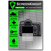 ScreenKnight Nikon D7100 SCREEN PROTECTOR invisible Military Grade shield