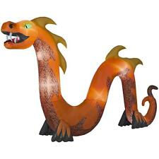 HALLOWEEN HUGE SERPENT DRAGON HAUNTED HOUSE CEMETARY  INFLATABLE AIRBLOWN 16 FT