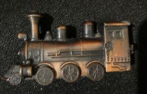 Vintage Die Cast Steam Engine Train Pencil Sharpener Vintage Miniature