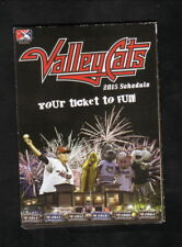 Tri-City Valley Cats--2015 Pocket Schedule--CSEA--Astros Affiliate