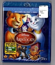 The Aristocats (Blu-ray/DVD, 2012, 2-Disc Set) Walt Disney Animated NEW SEALED