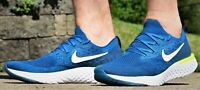 NIKE EPIC REACT FLYKNIT  - New Men's Green Blue White Running Shoes MSRP $150