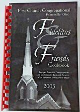 Painesville Ohio First Church Congregational Fundraiser Community Cookbook 2003