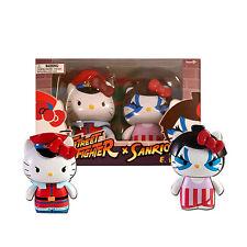 Sanrio Hello Kitty Street Fighter M. Bison & E. Honda 2-Pack PVC Figures-Toynami