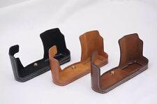 PU Leather Camera Bottom Case Half Camera Bag For Olympus E-M10 EM10