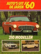 AUTO'S UIT DE JAREN '60 (210 MODELLEN) - Kjell Broberg