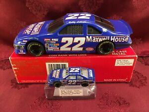 BOBBY LABONTE #22 Pontiac Grand Prix Maxwell House 1993 1/24 & 1/64 Car Diecast