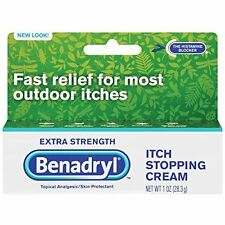 Benadryl Itch Stopping Cream - Extra Strength, 1 Ounce (Pack of 2)