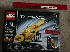 LEGO 9391 Technic Crawler Crane & Bulldozer RETIRED New Retired 2 In 1 Set 218pc